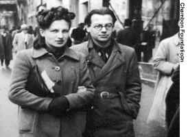 Leo and Barbara Sauvage in Marseille in 1940